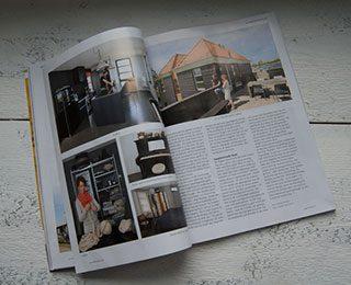 Huis en atelier in de Friesland Post