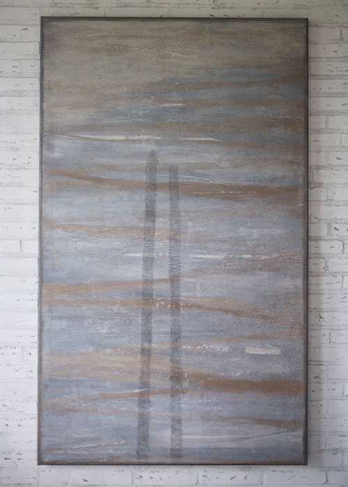 Schilderij Opkomend Water