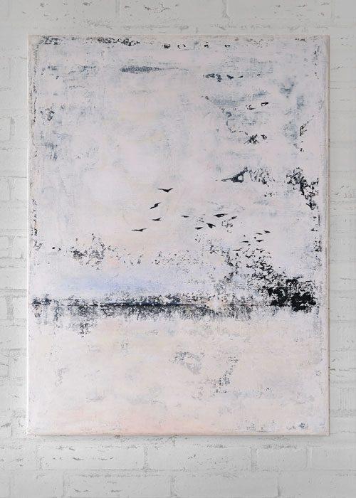 Schilderij Verlangen naar het onbekende